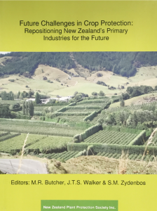 Book Cover: Future Challenges in Crop Protection: Repositioning New Zealand's Primary Industries for the Future