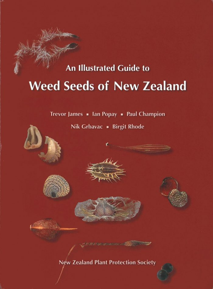 Book Cover: An Illustrated Guide to Weed Seeds of New Zealand