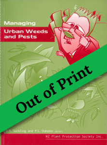 Book Cover: Managing Urban Weeds and Pests