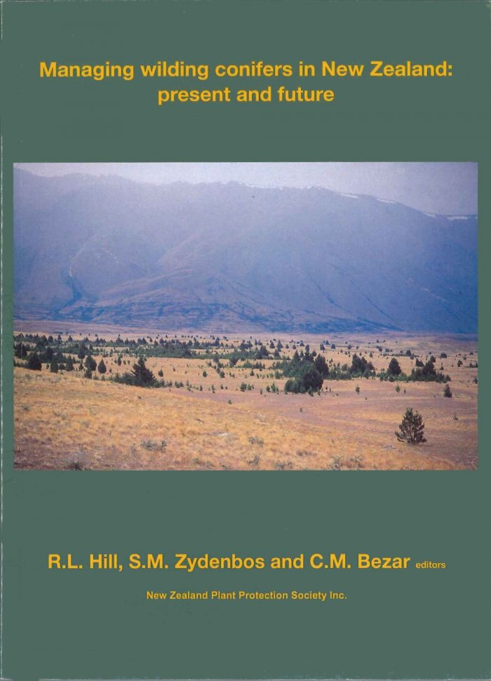 Book Cover: Managing Wilding Conifers in New Zealand: Present and Future