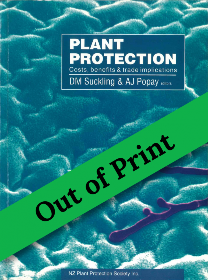 Book Cover: Plant Protection: Costs, Benefits and Trade Implications
