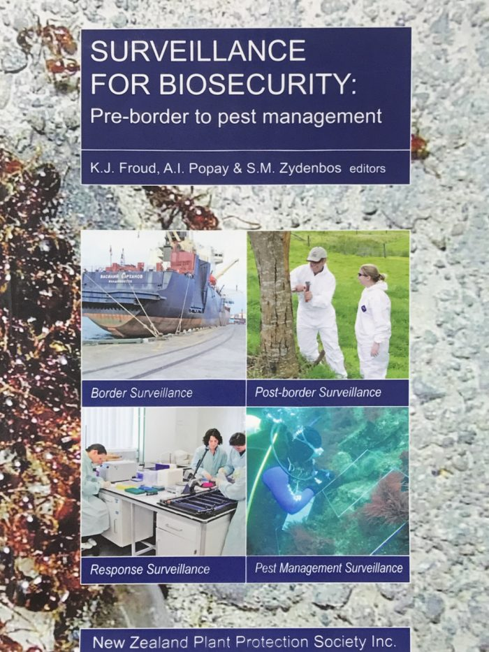 Book Cover: Surveillance for Biosecurity: Pre-Border to Pest Management