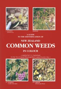 Book Cover: A Guide to the Identification of New Zealand Common Weeds in Colour