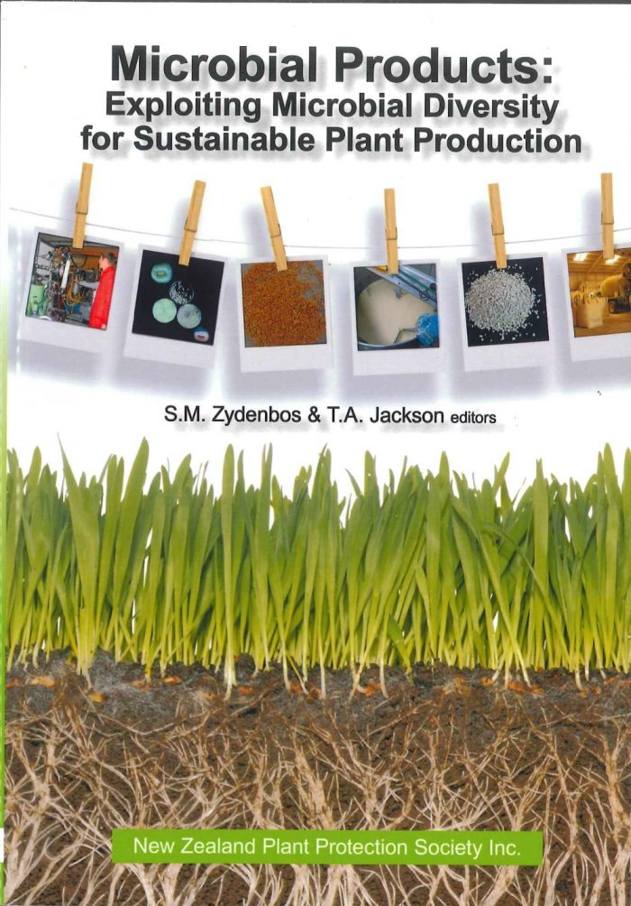 Book Cover: Microbial Products: Exploiting Microbial Diversity for Sustainable Plant Production