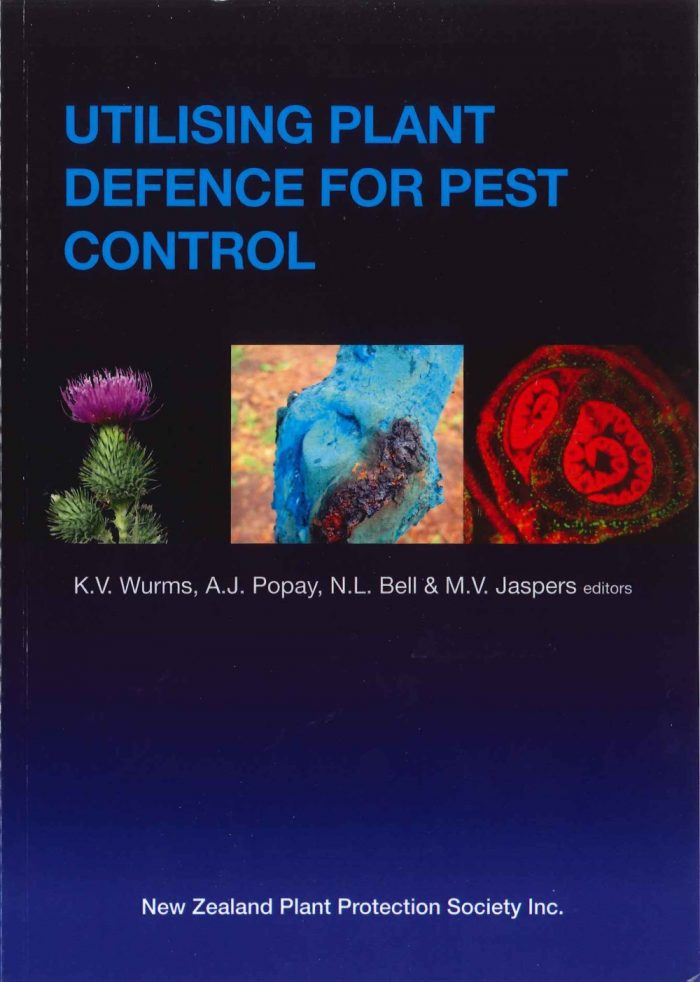 Book Cover: Utilising Plant Defence for Pest Control